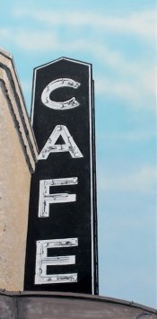 Available \\ CAFE No. 2 \\ 20x40 \\ James C. Gray